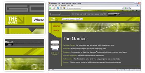 Game Crafter Web Site